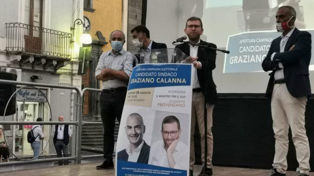 amministrative, Giuseppe Provenzano, graziano calanna, Catania, Politica