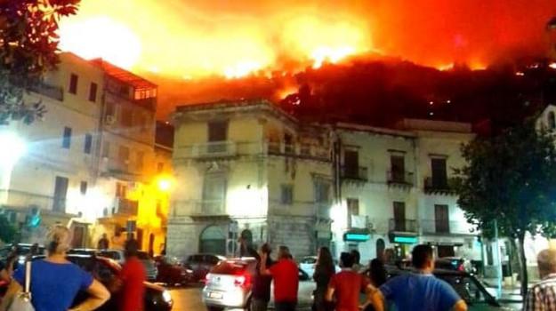 altofonte, incendi, Palermo, Cronaca