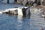 Camion rifiuti finito in mare a Lipari, sequestrato il parcheggio della ditta