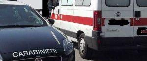 Avola, anziano cade dalle scale e rimane riverso a terra: soccorso dai carabinieri