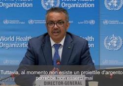 Coronavirus, l'Oms ammette: «Non abbiamo un piano B rispetto al vaccino» Secondo il direttore dell'Oms, potrebbe non esserci mai un'alternativa - Ansa
