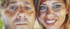 Viviana Parisi col marito Daniele Mondello