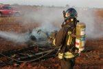 Marina di Modica, deltaplano si schianta al suolo: pilota muore carbonizzato