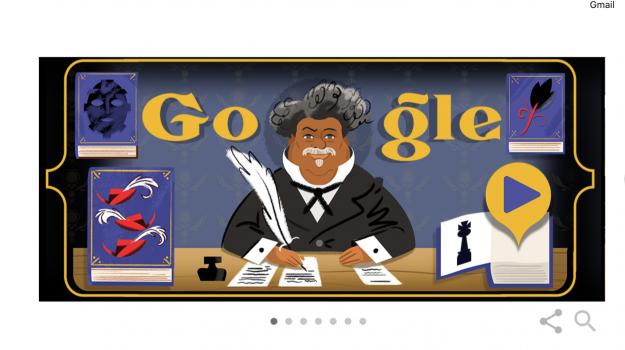 doodle di google, Alexandre Dumas, Sicilia, Cultura