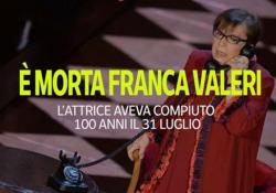 È morta Franca Valeri: l'attrice aveva appena compiuto 100 anni La «signorina snob» della tv si è spenta nella sua casa a Roma - Ansa