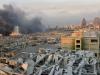 Inferno al centro di Beirut, almeno 50 morti e due militari italiani feriti: il video dell'esplosione
