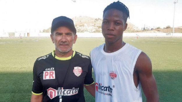 Amadou Konè, Agrigento, Calcio