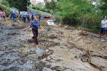Nubifragio su Messina, frana sulla Panoramica: paura ma nessun ferito