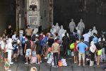 Sbarco migranti - foto d'archivio