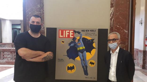 """L'arte contemporanea a Messina, inaugurata la mostra """"Nuovi Eroi"""""""