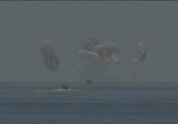 Space X, ammaraggio nel Golfo del Messico per la navicella della Nasa Il pilota: «È un onore e un privilegio» - Ansa