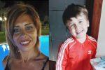 Viviana Parisi e il piccolo Gioele Mondello