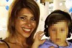 Viviana Parisi, 43 anni, e il figlio di 4 anni