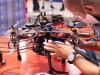 Un momento della gara del Leonardo Drone Contest a Torino (fonte: Leonardo)