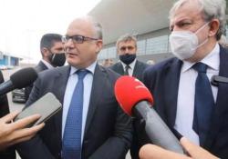 Arcelor Mittal, Gualtieri: «Acciaio verde nel Recovery plan» La conferma del ministro dell'Economia da Bari - Ansa