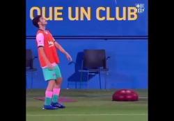 Barcellona, i palleggi da giocolieri di Puig e Gonzalez La rosa del Barcellona è una lista di talenti - Dalla Rete