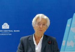 Bce, Lagarde: «Prospettive incerte per la ripresa» Le parole della presidente della Bce - Agenzia Vista/Alexander Jakhnagiev