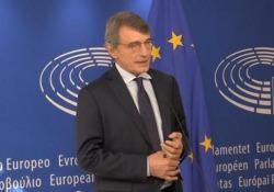Coronavirus, Sassoli: «Il green-deal è la via maestra per la ripresa» «Siamo all'inizio di una strada per realizzare una Europa più giusta» - Ansa