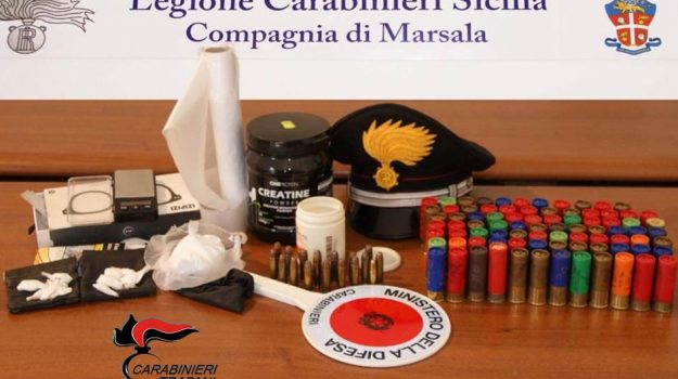 armi, droga, Trapani, Cronaca