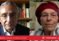 Emma Bonino: «Mantenere il primato di seconda potenza manifatturiera in Europa»  - Corriere Tv