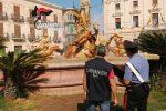 Fontana di Diana, Piazza Archimede
