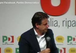 """Mes, Conte: """"Se necessario proporrò soluzione alle Camere"""" Il presidente del Consiglio intervenuto alla Festa dell'Unità a Modena - Ansa"""