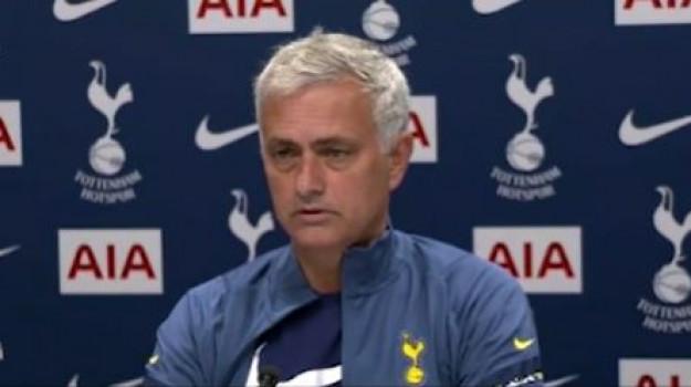 Tottenham, Josè Mourinho, Sicilia, Calcio