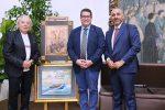 """Troina, al sindaco Fabio Venezia il premio """"Amico dell'Arte"""""""