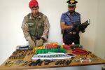 Nascondeva pistola e munizioni in casa: arrestato 49enne a Vittoria