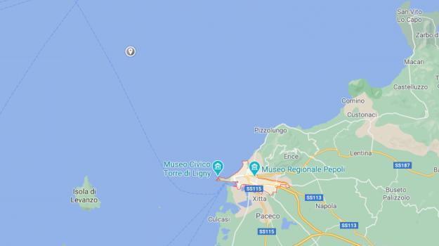 terremoto, Trapani, Cronaca