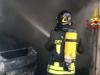 Incendio di un'auto in un garage in corso Calatafimi, l'intervento dei vigili del fuoco