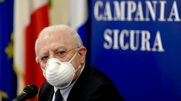 coronavirus, Vincenzo De Luca, Sicilia, Politica