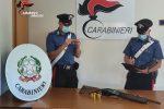 Nascondeva un fucile illegale a casa, arrestato a Pachino