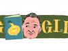 Il doodle di Google omaggia Gianni Rodari per il 100° anniversario della nascita del maestro della fantasia