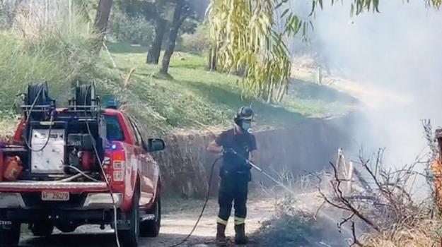 incendio, Agrigento, Cronaca