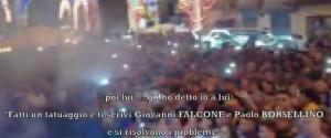 """Mafia, il boss: """"Ti tatui i nomi di Falcone e Borsellino e si risolvono i problemi"""""""