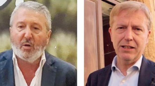 Calogero Firetto, Franco Miccichè, Agrigento, Politica