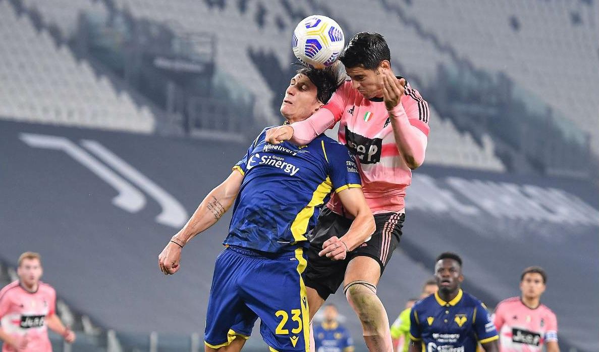 La Juventus frena ancora: con il Verona solo 1-1 - Giornale di Sicilia