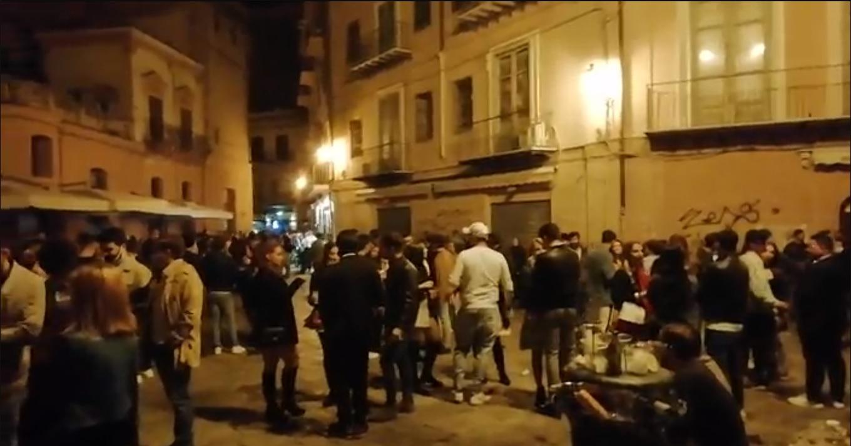 Coronavirus, stretta alla movida a Palermo: niente vendita di alcolici dalle 21 alle 6, firmata l'ordinanza - Giornale di Sicilia