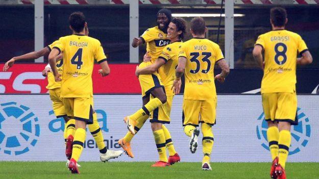 L'Inter riacciuffa il Parma al 92' (2-2), l'Atalanta vince a Crotone
