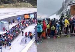In Tirolo è iniziata la stagione dello sci, senza distanziamento o mascherine Le immagini dal ghiacciaio dell'Hintertux e del Kaunertal, in Austria, fanno discutere - CorriereTV
