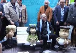 Morto il creatore di Mafalda, Quino: aveva 88 anni I fumetti di Quino sono stati tradotti in decine di lingue, vendendo milioni di copie - LaPresse/AP