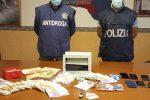 Caltanissetta, sequestro di droga da 40mila euro: arrestati 2 fratelli, uno con il reddito di cittadinanza