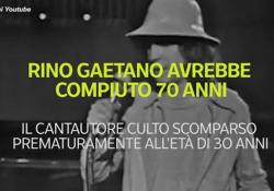 Rino Gaetano avrebbe compiuto 70 anni: chi era il simbolo della musica italiana Il cantante culto scomparso prematuramente all'età di 30 anni - Ansa