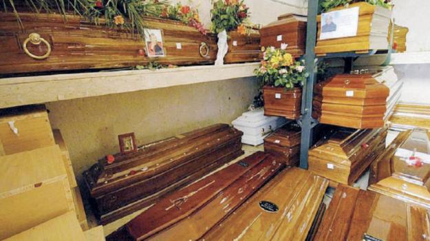 cimiteri, coronavirus, Palermo, Cronaca