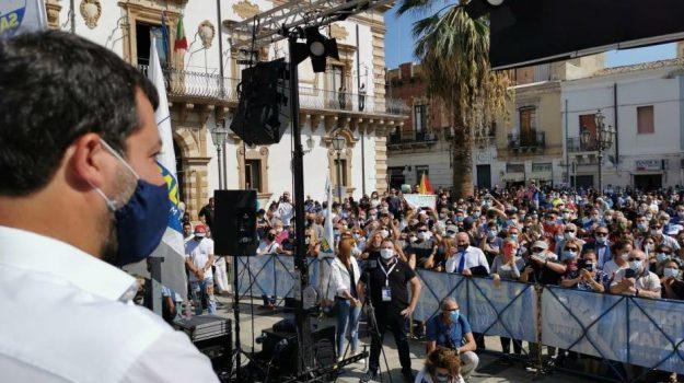 amministrative, Matteo Salvini, Siracusa, Politica