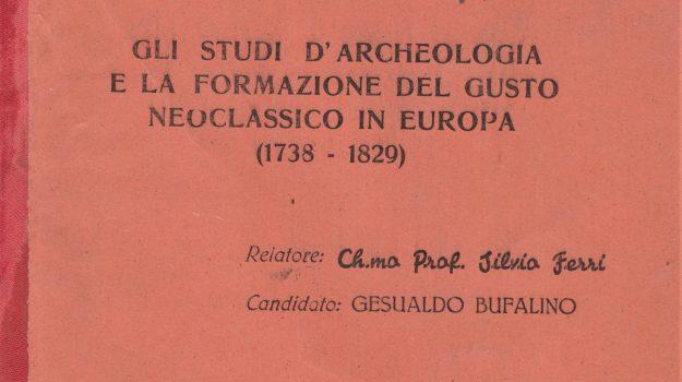 letteratura, Gesualdo Bufalino, Palermo, Cultura