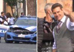 Tom Cruise ancora a Roma per il nuovo 'Mission Impossible': le riprese nella via dei Fori Imperiali Il settimo episodio della saga hollywoodiana è girato in parte in Italia - LaPresse/AP