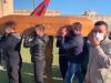 Omicidio di Castelvetrano, lacrime ai funerali di Vincenzo: la bara allo stadio sotto la curva della Folgore