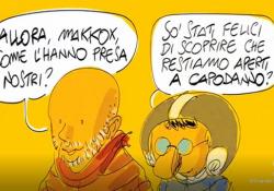 A Capodanno puntata speciale con «Propaganda Live»: «Sarà speciale, non possiamo abbandonare gli italiani» Un cartoon firmato da Makkox annuncia la puntata speciale di La7 - Corriere Tv